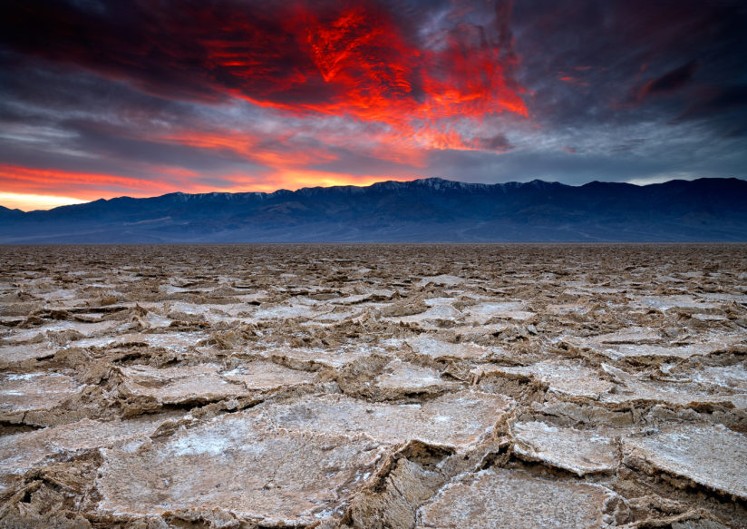 Pieces of a Badwater Sunset