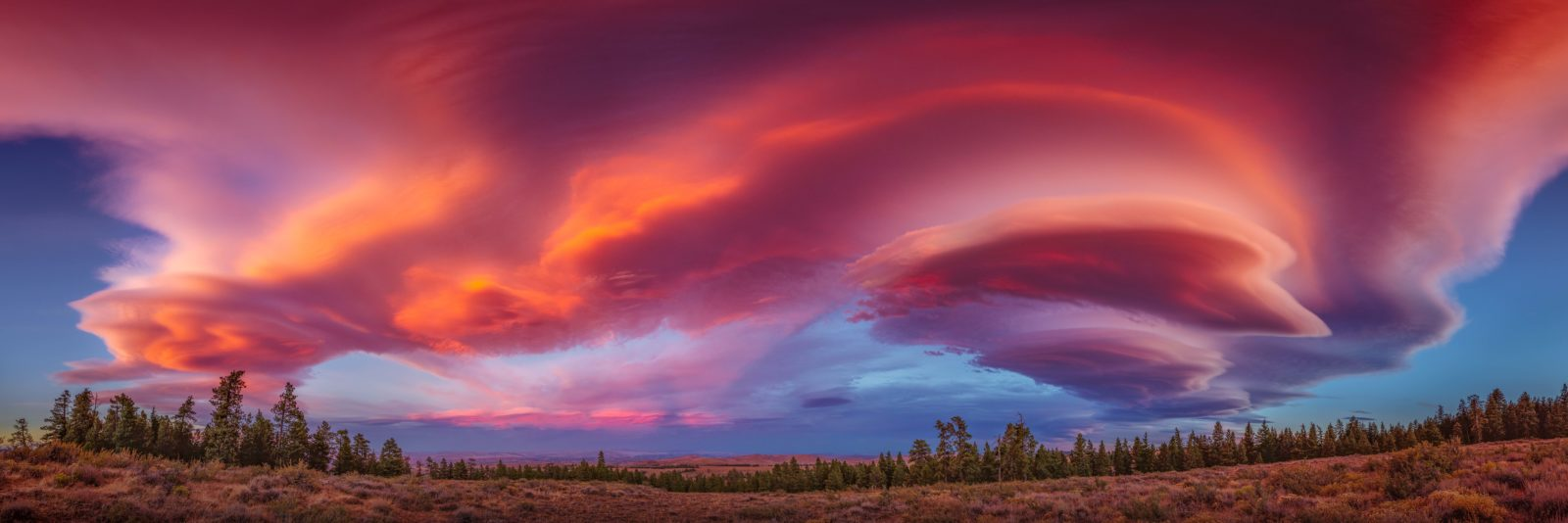 Lenticular at Sunset