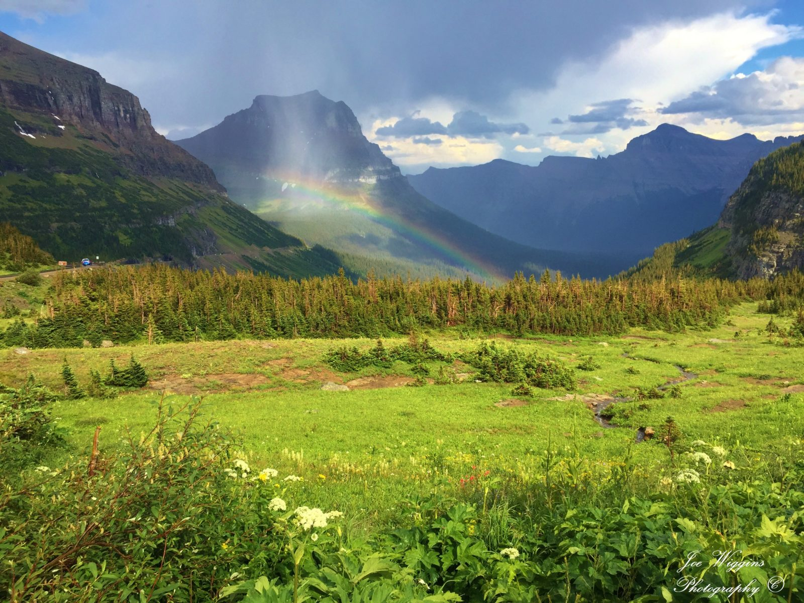 Logan Pass Rainbow