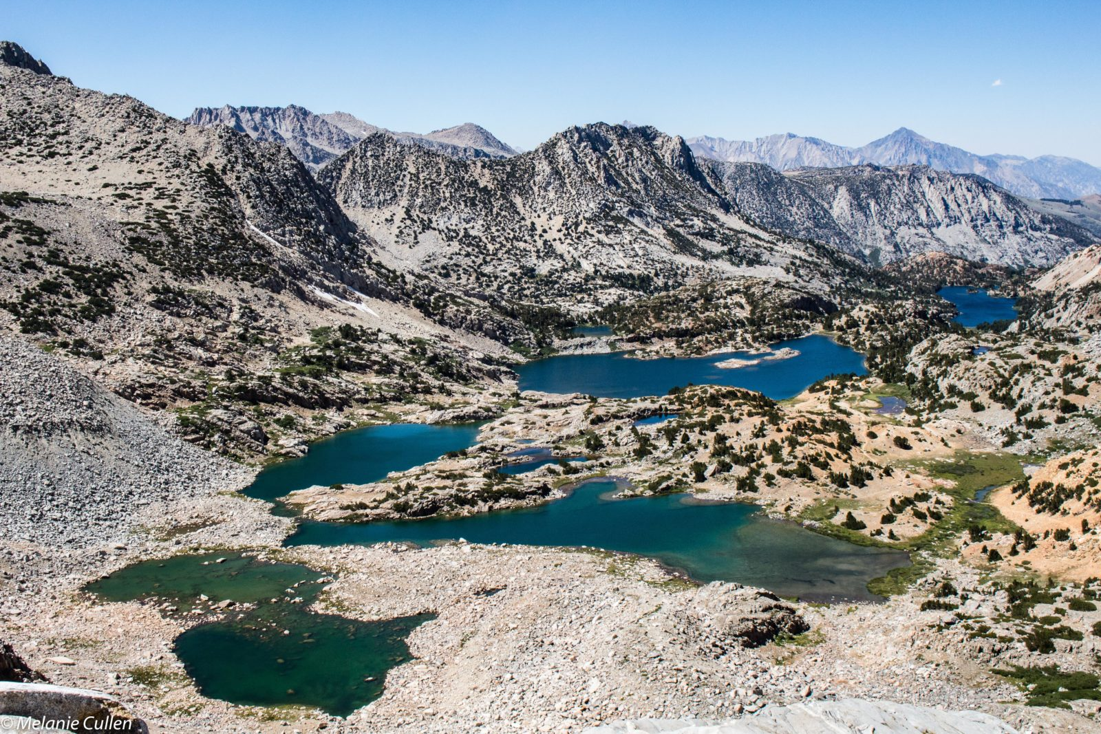 Bishop Pass Lakes Basin