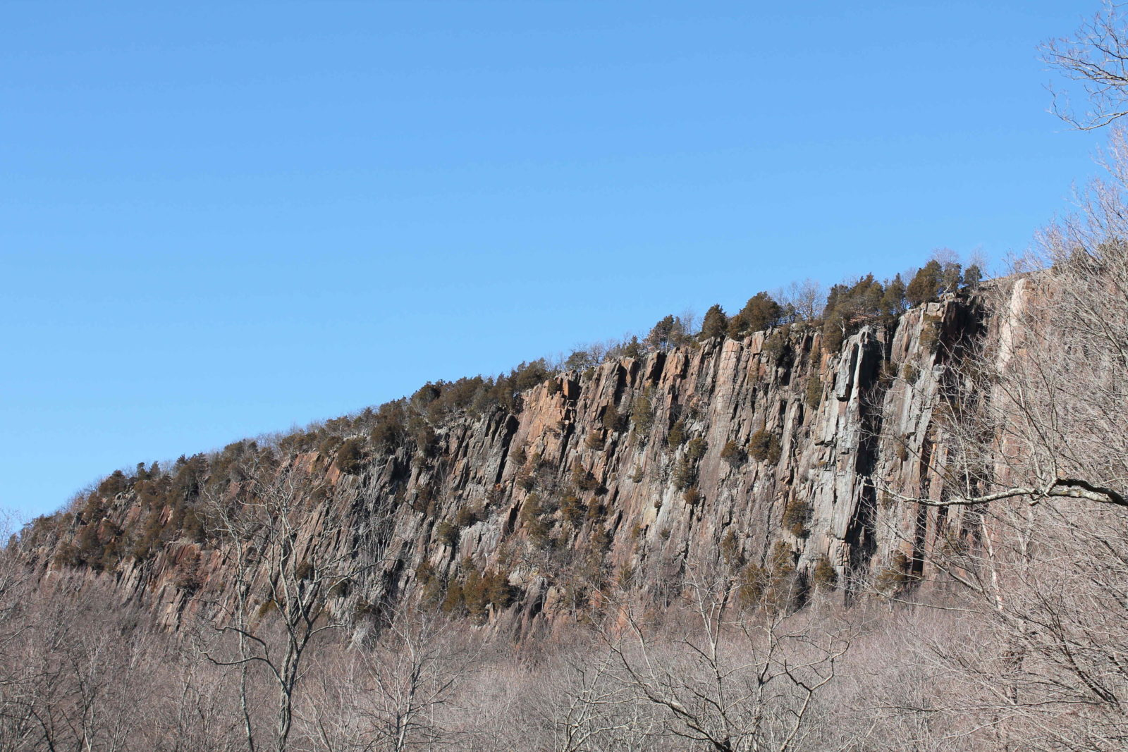 West Rock Mountain Cliff