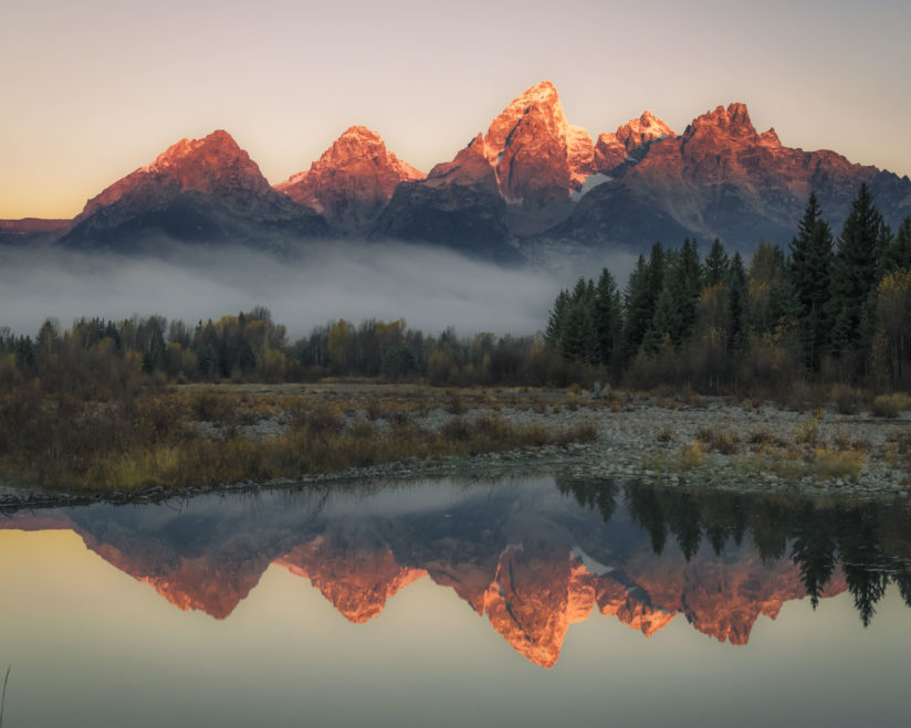 First Light at Schwabachers Landing