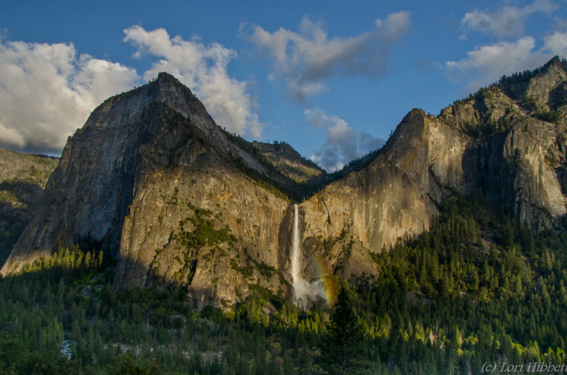 Afternoon light on Bridalveil Falls