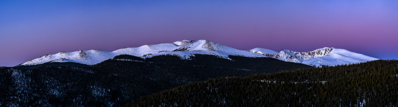 MT Evans sunrise