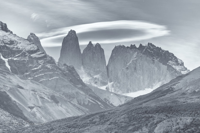 Lenticular Cloud Over Las Torres
