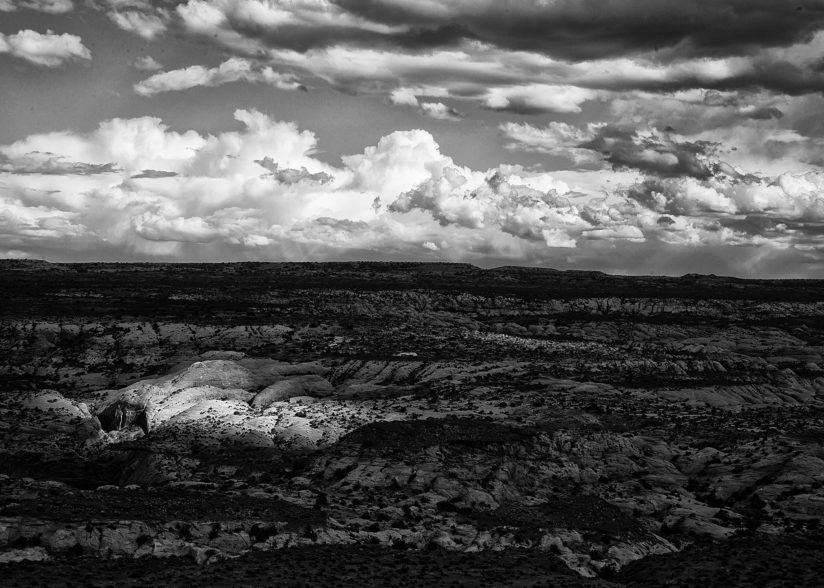 Clouds over Canyonlands