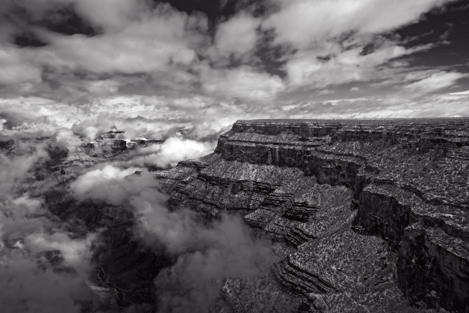 Grand Canyon B&W 3