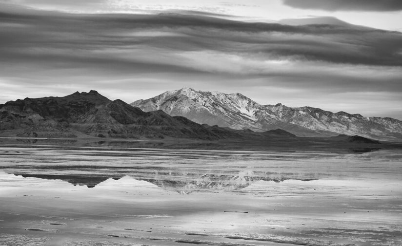 Bonneville Salt Flats Reflection
