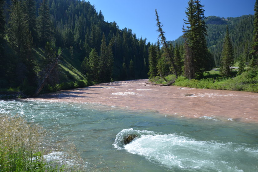 Merging Granite and Hoback Rivers