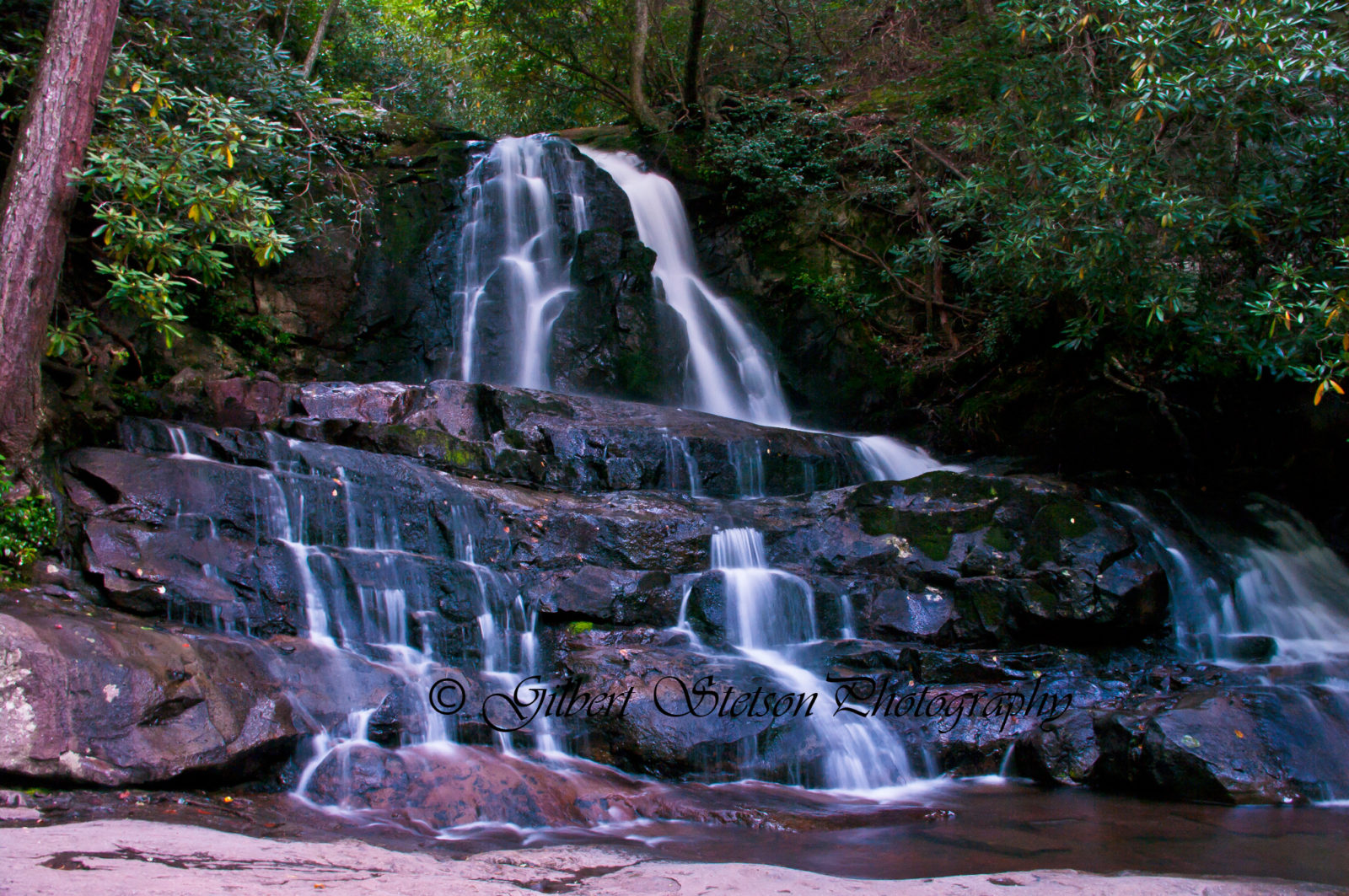 Laurel Falls, Great Smoky Mountains