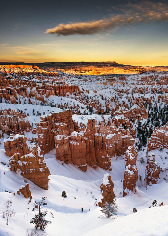 Sunset at Bryce Canyon NP