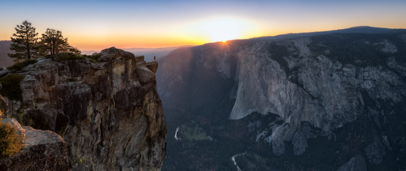 On The Edge Of The Yosemite