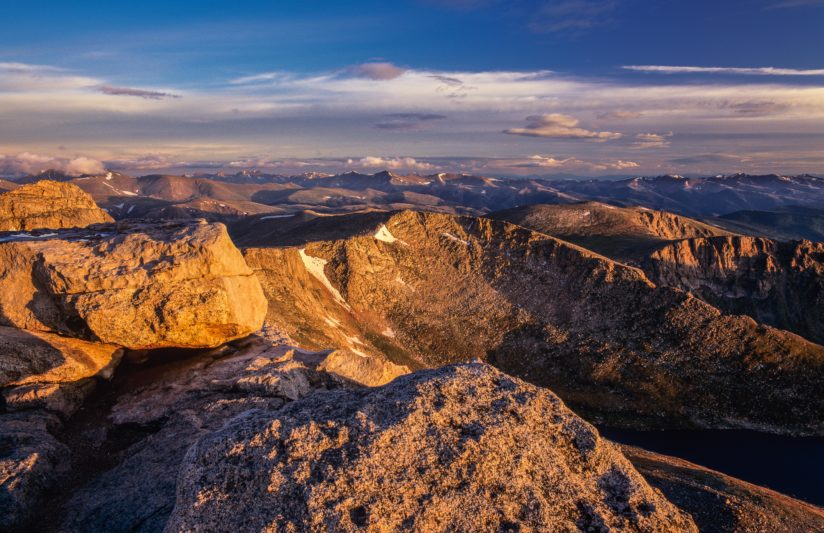 Mt. Evans Sunrise