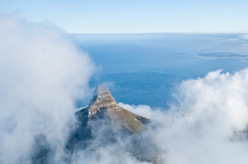 Above Lion's Head
