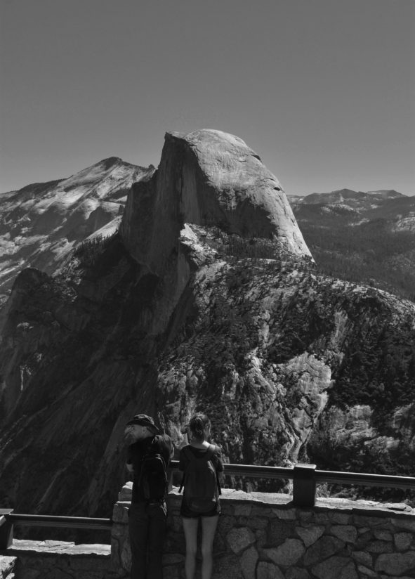 View on Half Dome