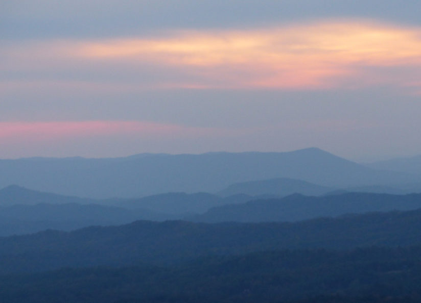 Cherokee Mountains at Dusk