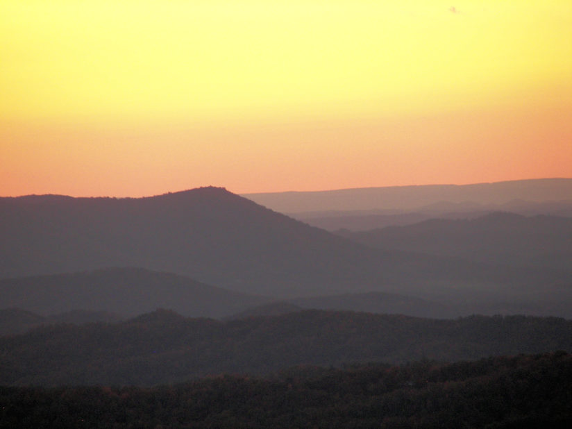 Cherokee Mountain Sunset