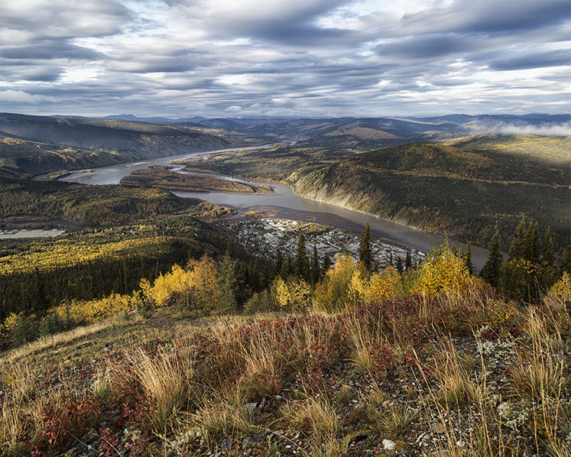 Overlooking the Yukon River
