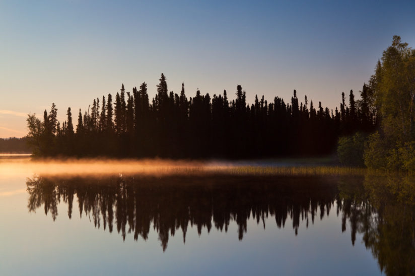 Dolly Varden Lake Sunrise