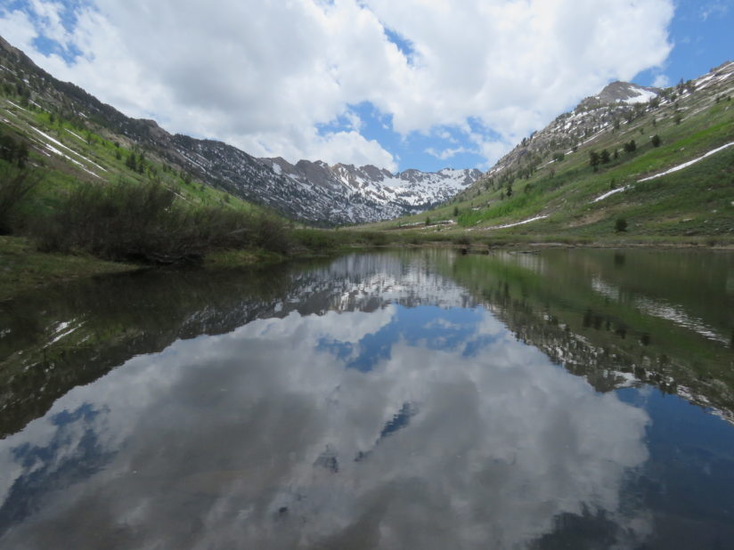 Lamoille Canyon Midday Clouds