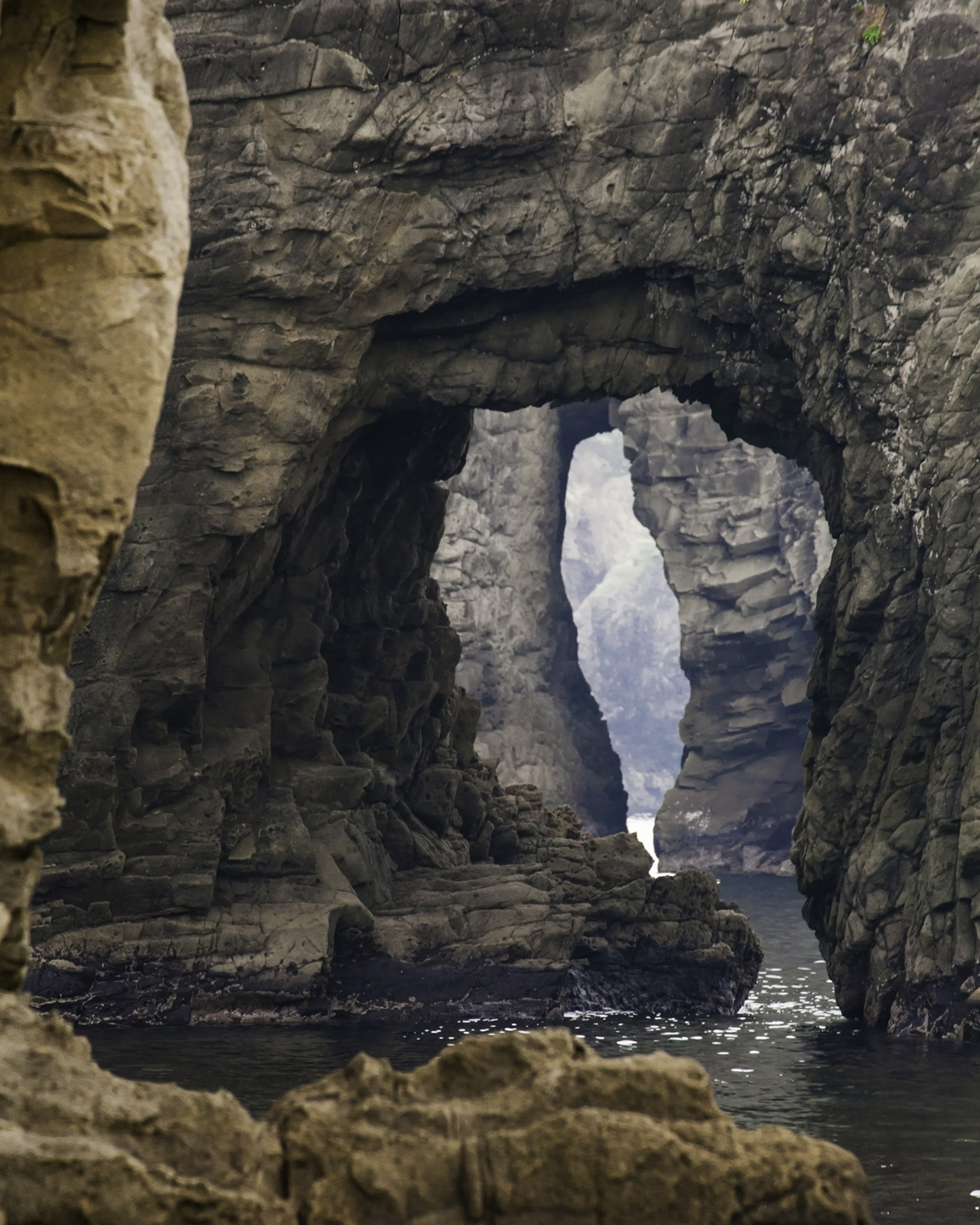 Sea Caves, Futo Beach