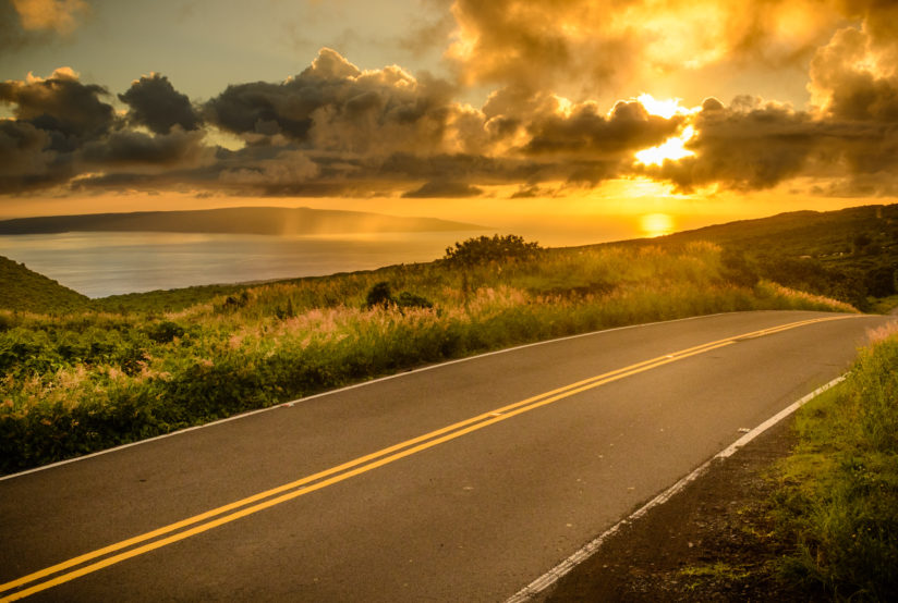 Road to Hana Sunset