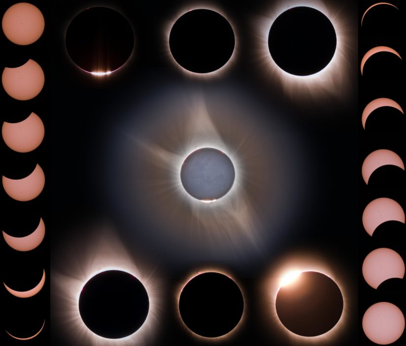 Solar Eclipse from central Idaho