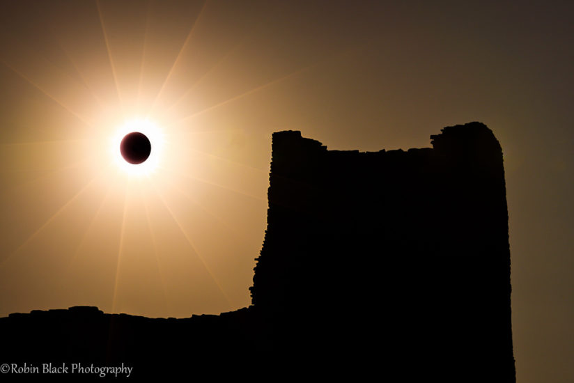 Annular Eclipse Over Wukoki Pueblo