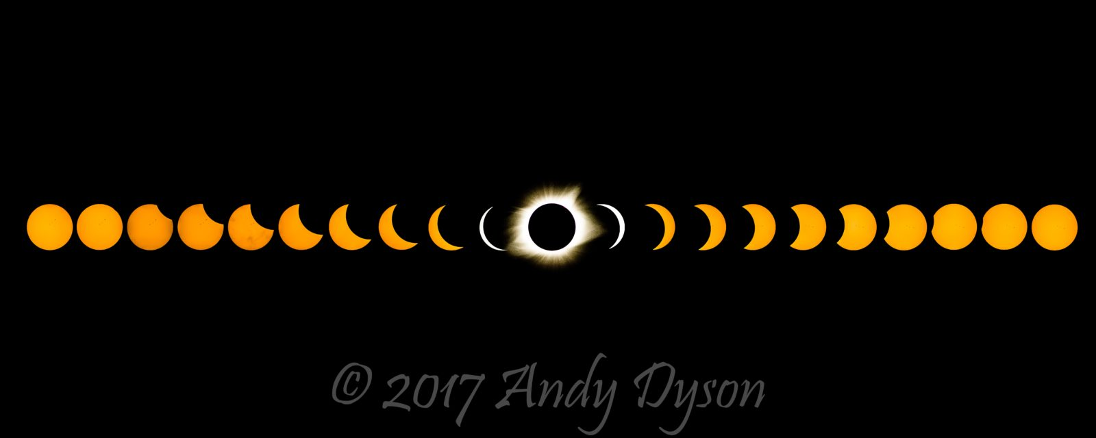 The Total Eclipse (From Begining to End)