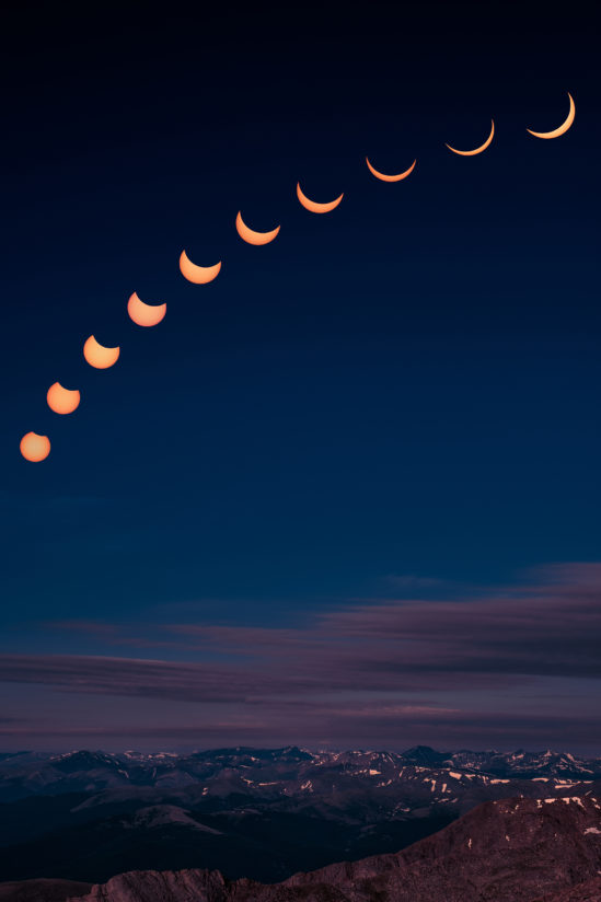 Eclipse over the Rockies
