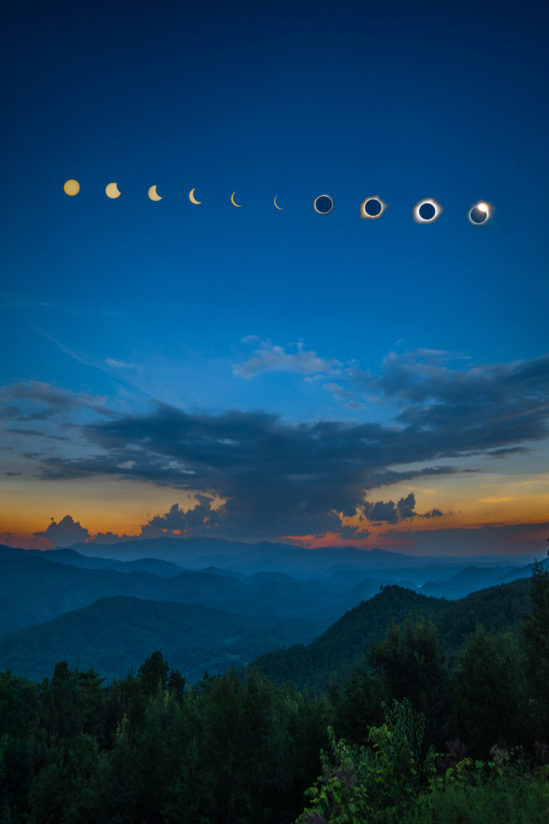 Great Smoky Mountains Eclipse