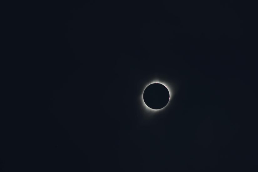 Totality from the Sandhills