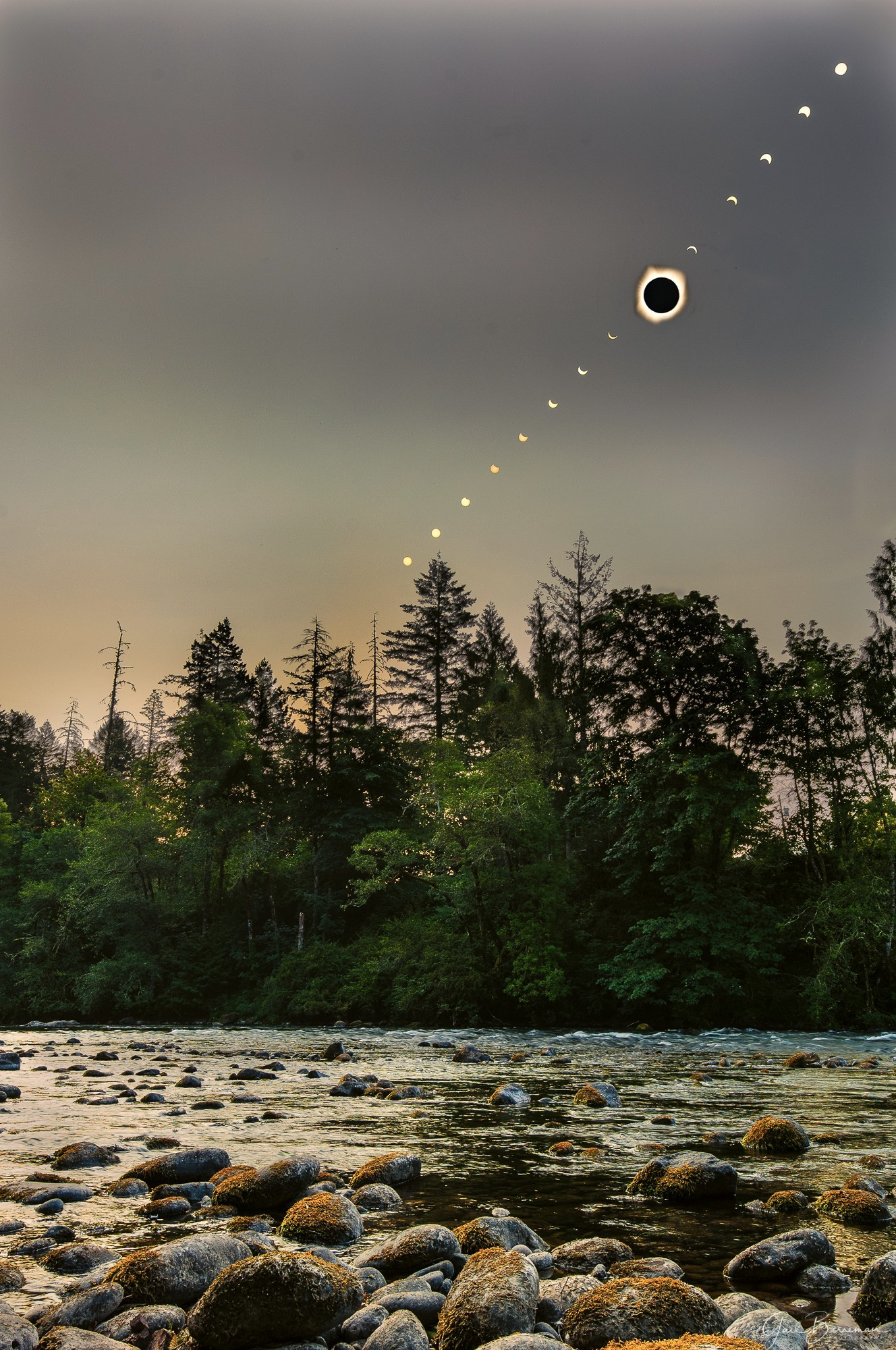Solar Eclipse Composite 8/21/2017
