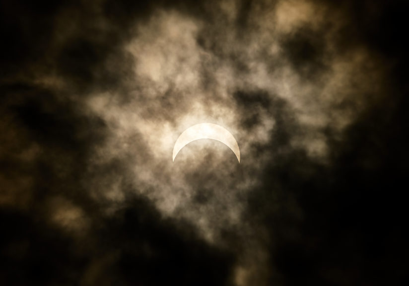 The Solar Eclipse at Duluth