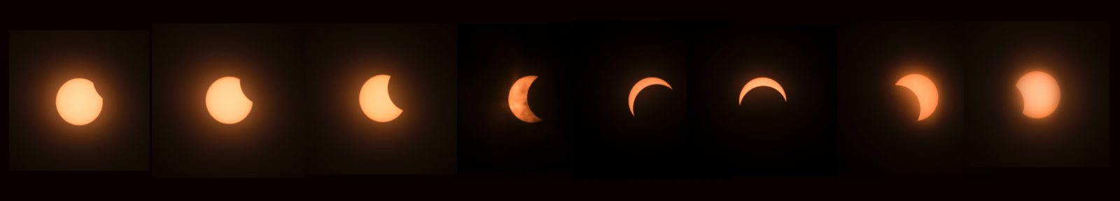 Eclipse over Wisconsin