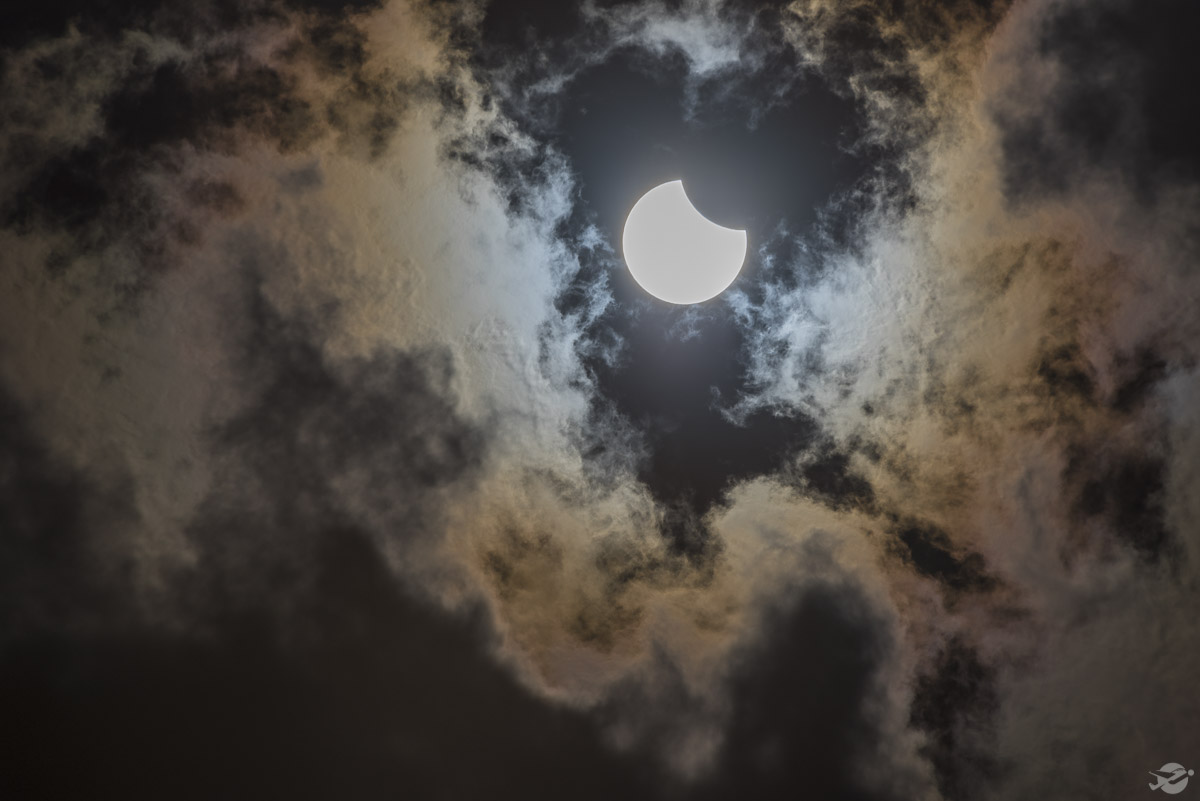 Cloudy Eclipse