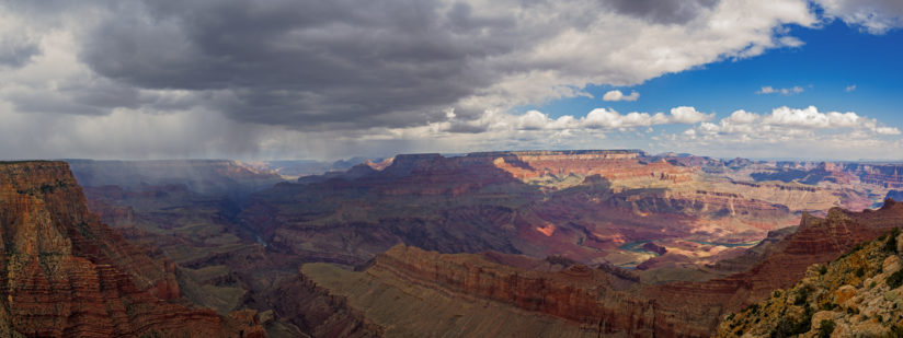 Grand Canyon Rain and Sun