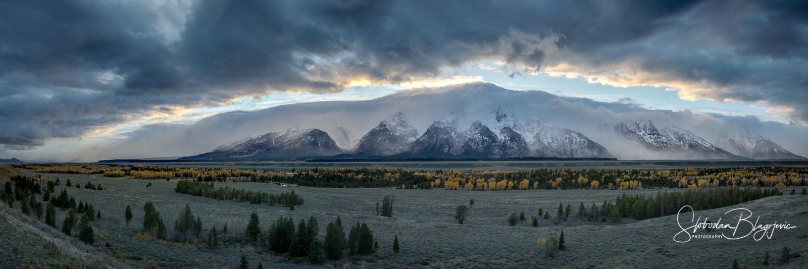 Grand Teton – Clearing Storm at Sunset