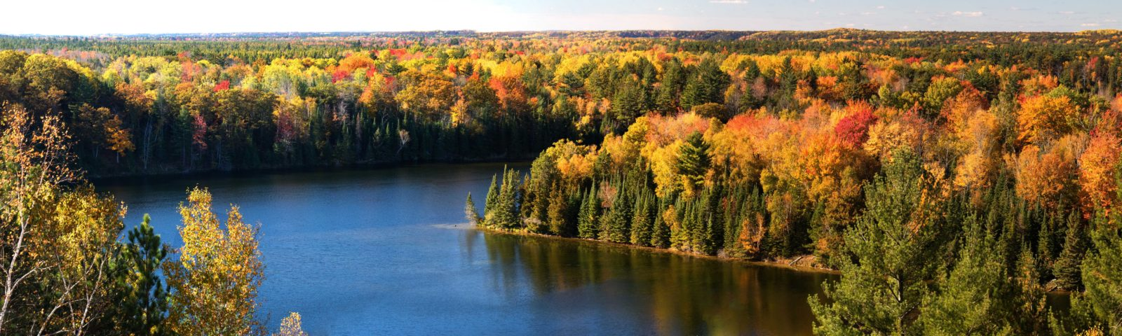 Autumn Along the Au Sable River