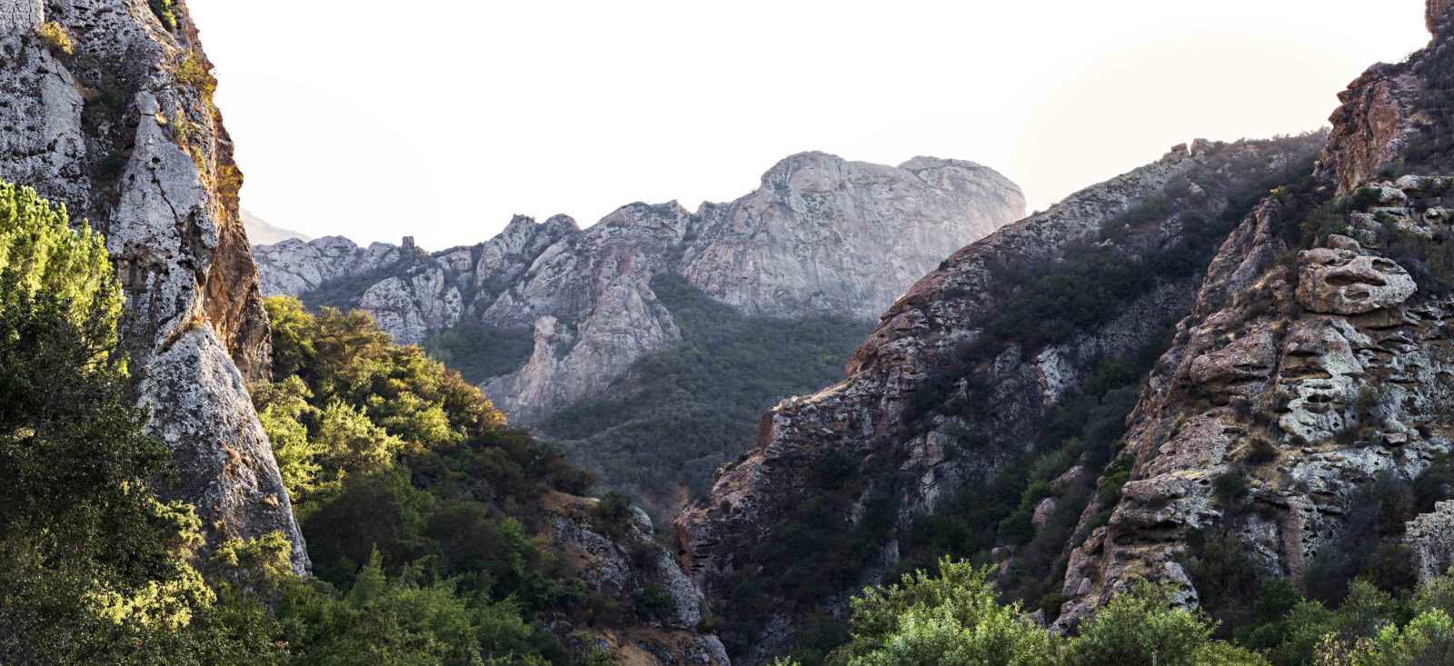 Santa Monica Mountains in Malibu Creek State Park