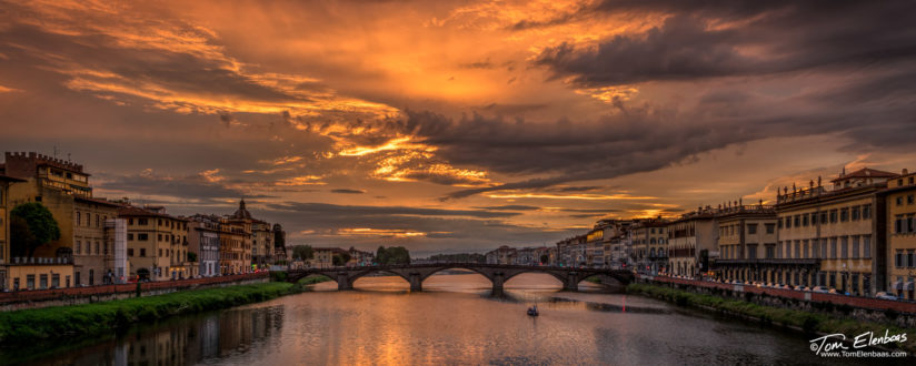 Ponte alla Carraia & the Arno River