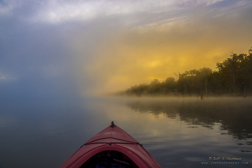 Misty Morning Kayaking I