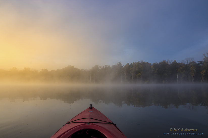Misty Morning Kayaking II