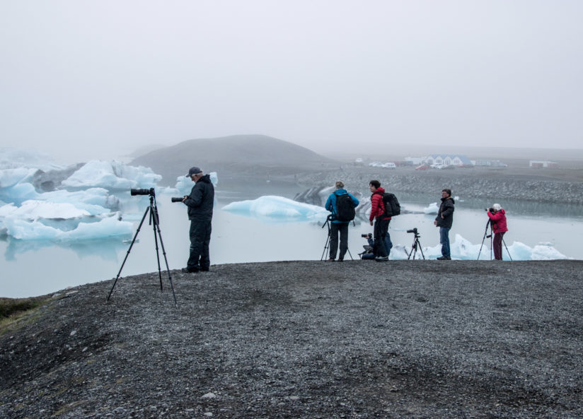 Photographing Bergs