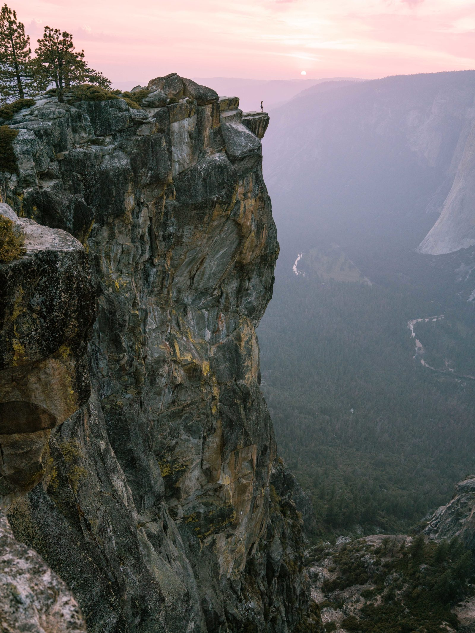 Taft Point Sunset