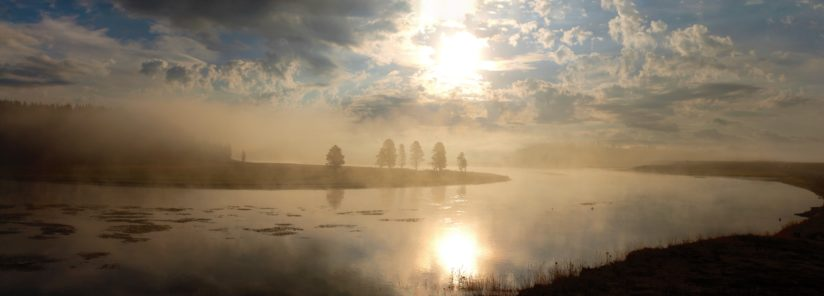 Morning on the Yellowston