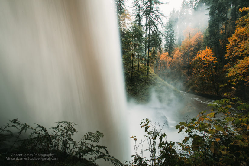 Powerful North Falls in Autumn