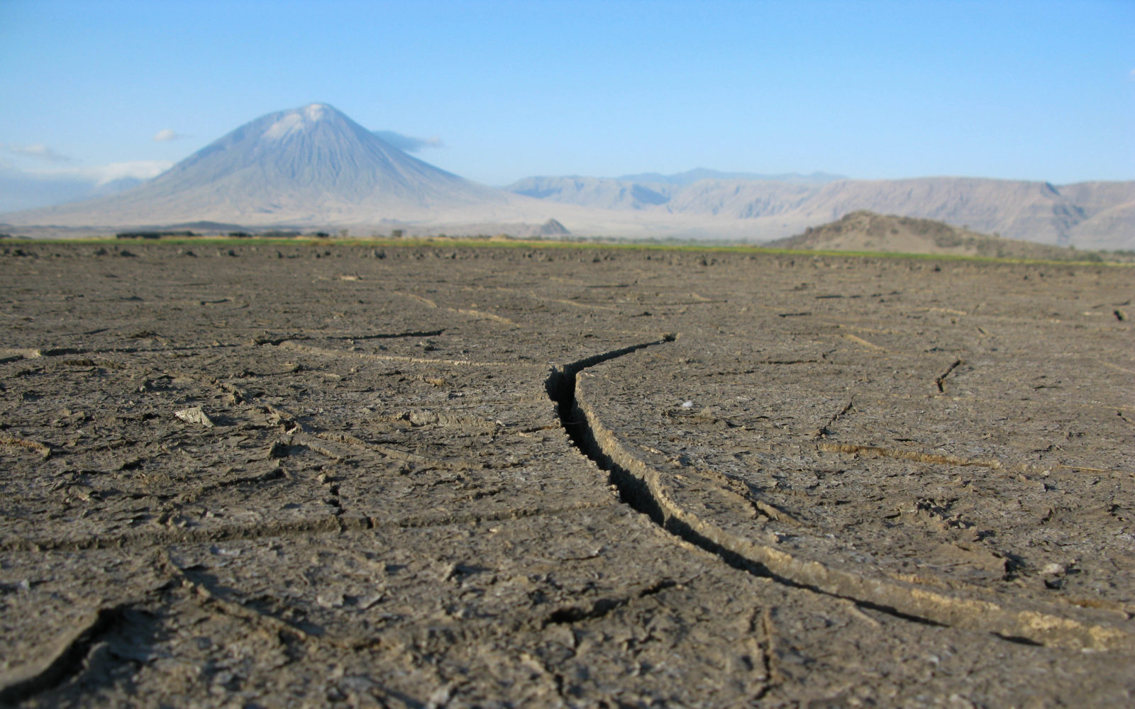 Lake Natron Floor to Ol Donyo Lengai