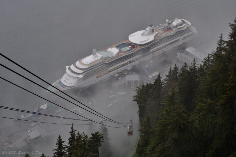 Mount Roberts Tramway: Out Of The Mist