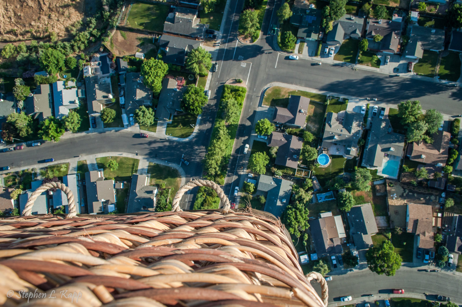 Looking Down on Suburbia